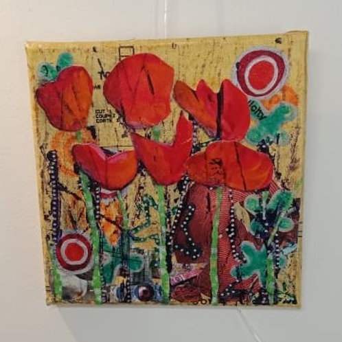 Poppies 2 (small canvas)