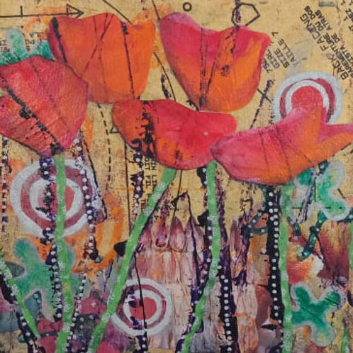 Poppies 1 (small canvas)