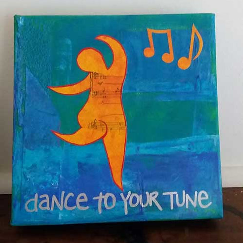 Dance to your tune (small canvas)