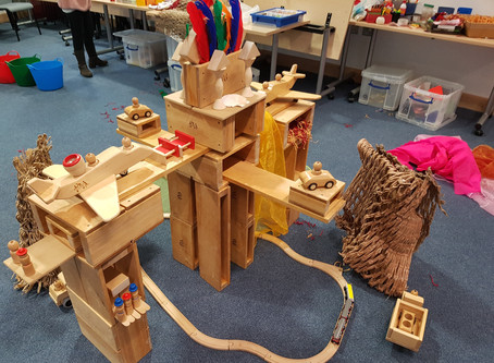 Block Play - it's not just wooden blocks