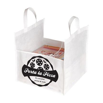 stampa personalizzata su borsine portapizza borsine portapizza con logo stampato portapizza in tnt offerta stampa borsine