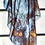 Thumbnail: Forest Silk Scarf Colour Indigo