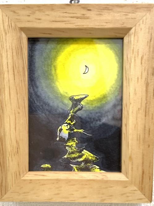 ボンゲ式 作「月を見つける」⑦