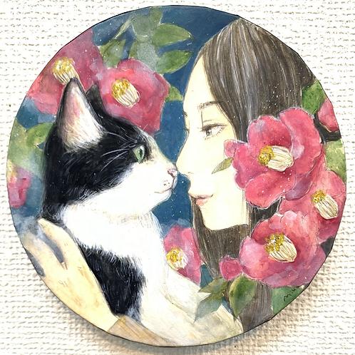 米田美香 作「はちわれ」