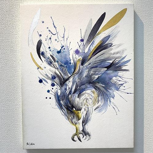 橋本佳史郎 作「変容と情緒の両翼」