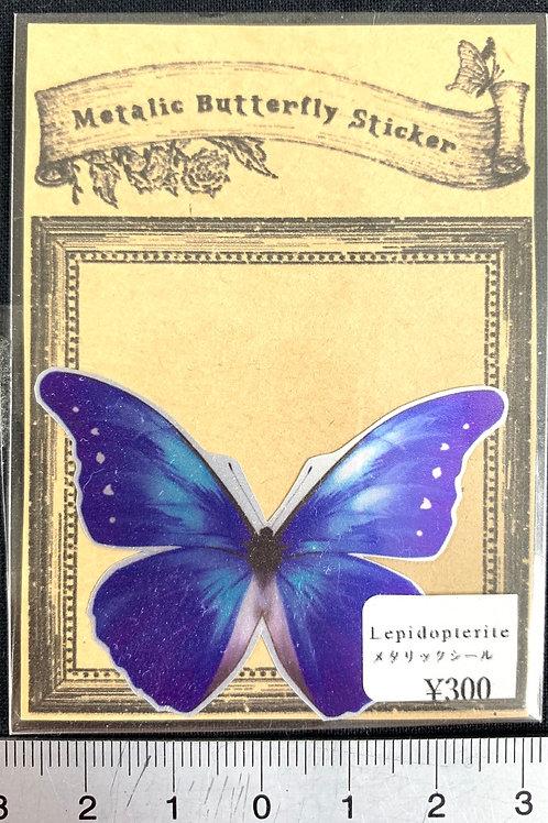 Lepidopterite /メタリックシール(カキカ)