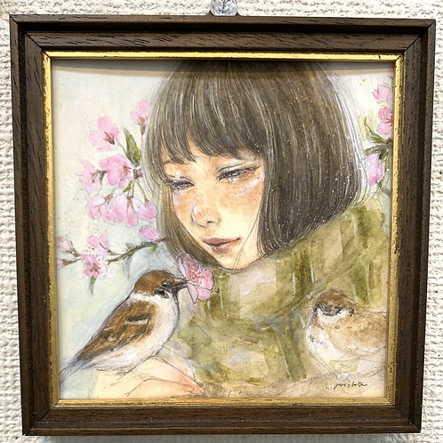 米田美香 作「春麗ら」