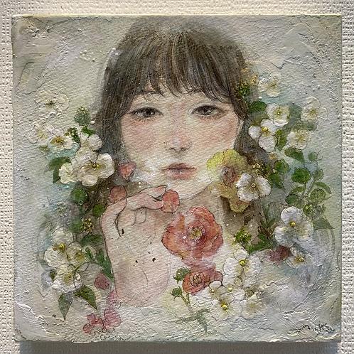 米田美香 作「始まり」