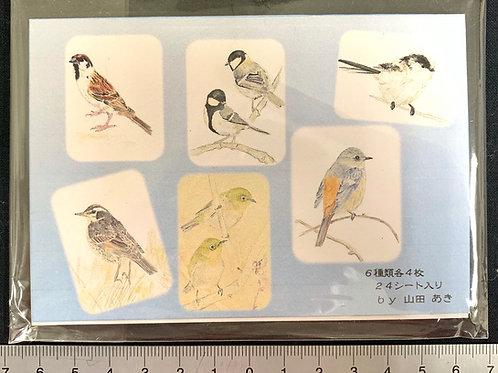 山田あき/野鳥メモ帳