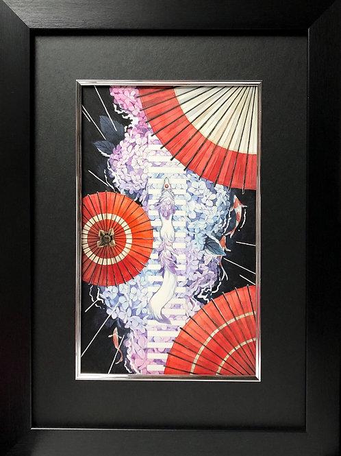 シキトリ 作「紫陽花渡り」