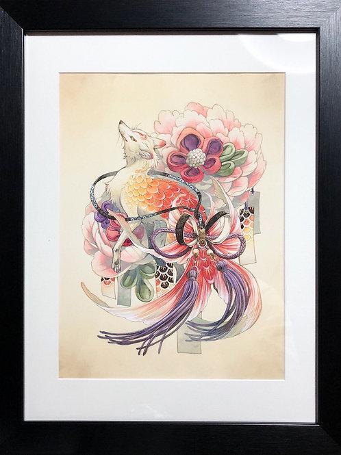 シキトリ 作「狐金魚」