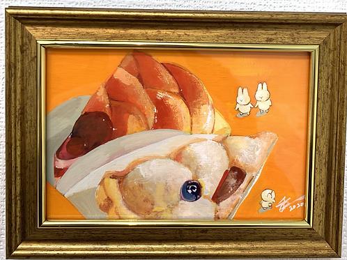 千宙 作「ご褒美ケーキ」