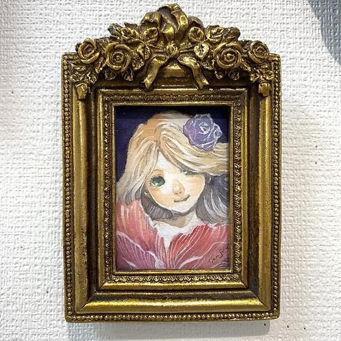 天壌 作「薔薇の少女」