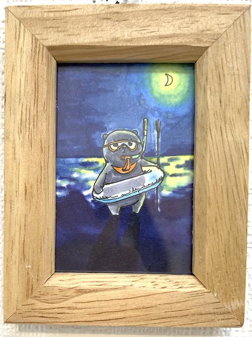 ボンゲ式 作「夜の海にて」⑤