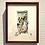 Thumbnail: 椿あぐり 作「めぐる季節のお庭シリーズ-木蓮と雀-」