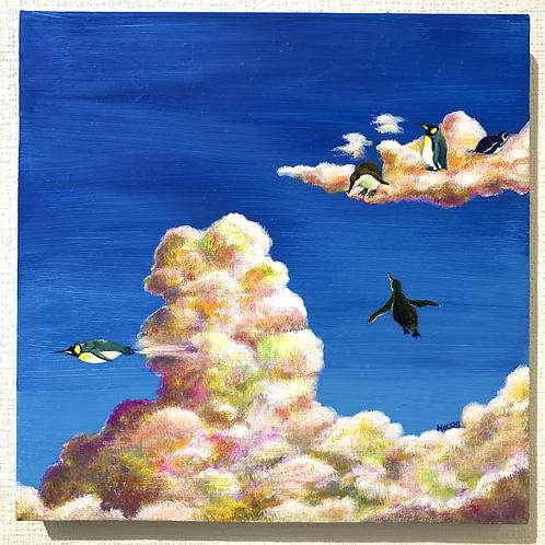 MOCCHI 作「晴れ時々ペンギンと星」