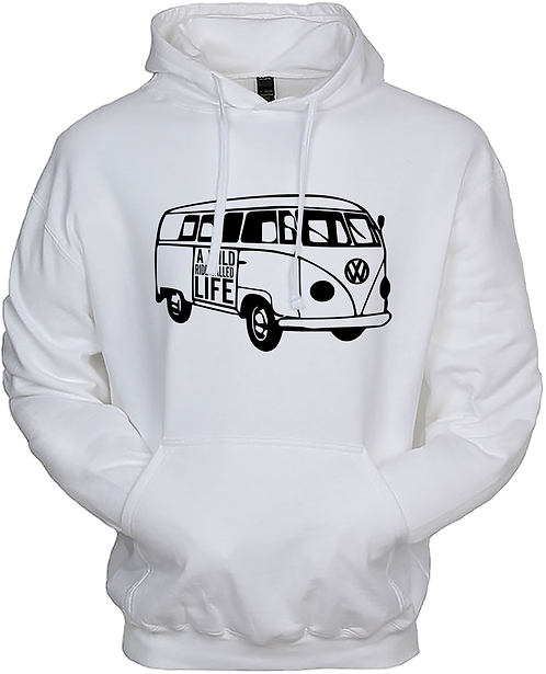 A Wild Ride Called Life - Bus Outline Hoodie