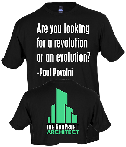 Are You Looking For A Revolution Or An Evolution?