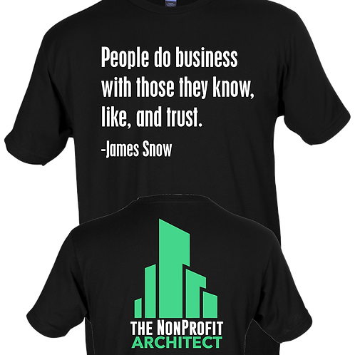 People only do business with those they know - James Snow
