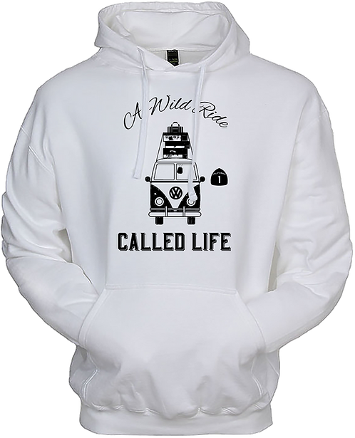 A Wild Ride Called Life - Highway 1 Hoodie
