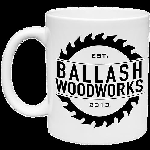 Ballash Woodworks-Logo Mug 11 oz