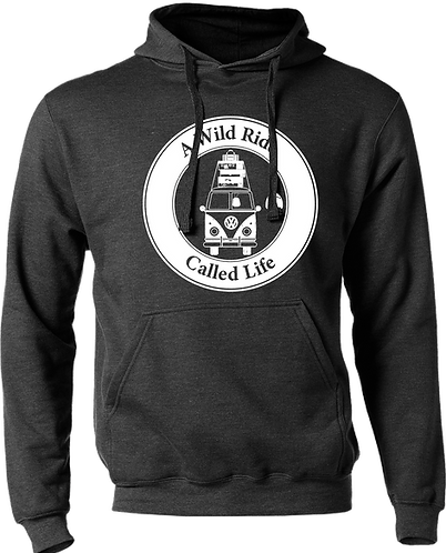 A Wild Ride Called Life - Round Highway 1 Hoodie
