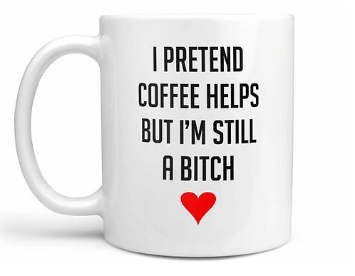 I pretend coffee helps