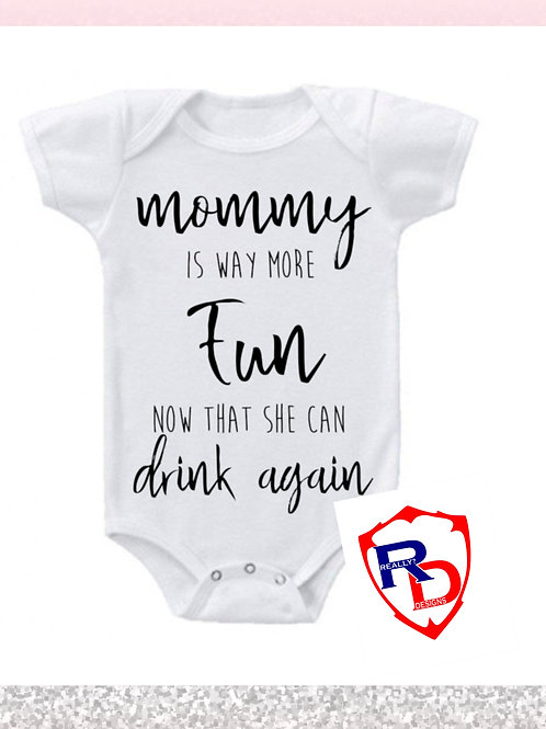 Mommy is more fun
