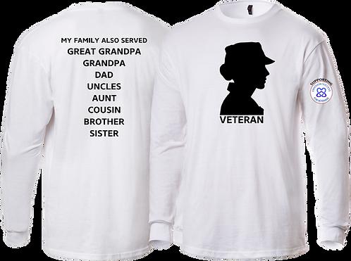 ENVISION SUCCESS - Woman Veteran Shirt Long Sleeve