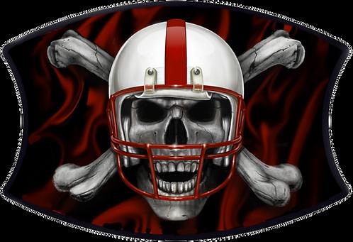 Huskers Skull & Cross Bones