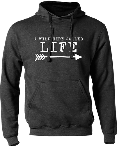 A Wild Ride Called Life - Arrow Hoodie