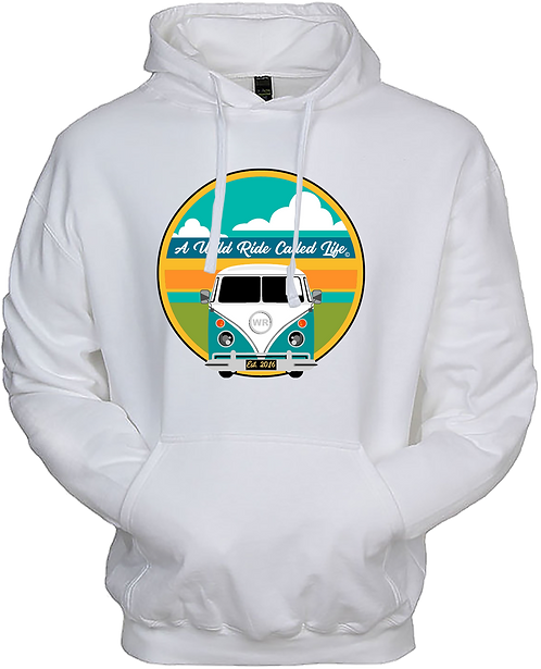 A Wild Ride Called Life - Sunset Bus Hoodie