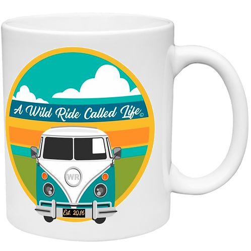 A Wild Ride - Bus Sunset Left Handed Mug