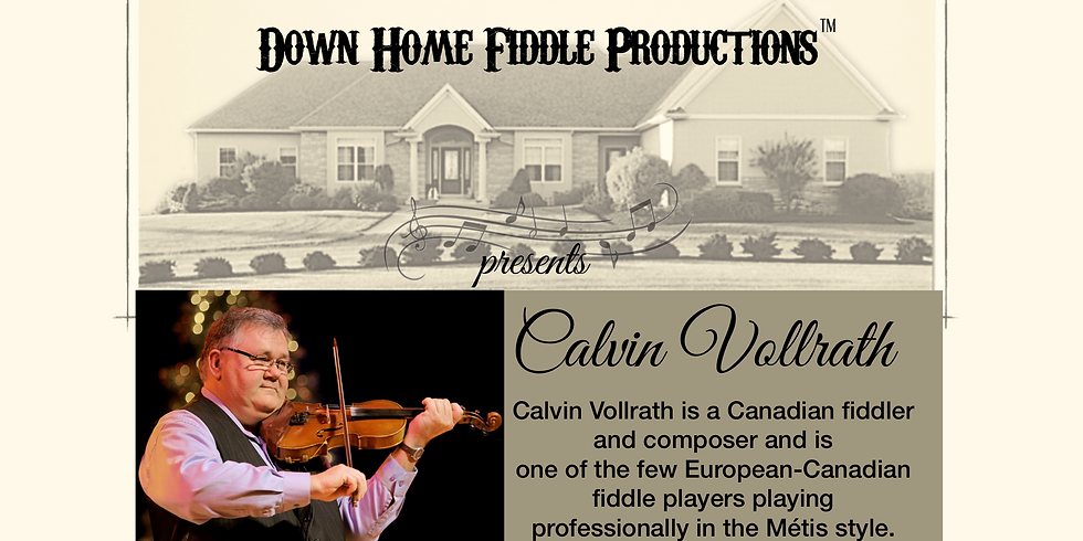 HOUSE CONCERT -  2nd Show  Calvin Vollrath  (1)