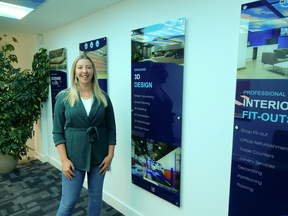 "Molly, SDE Group's new ""3D Interior Designer"""