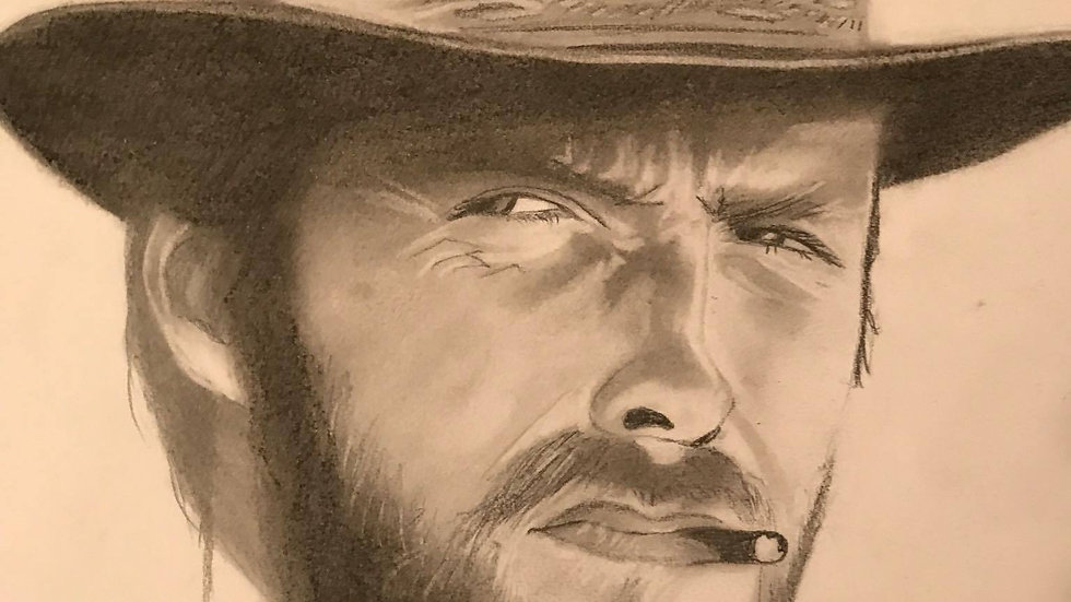 Clint Eastwood in Hat