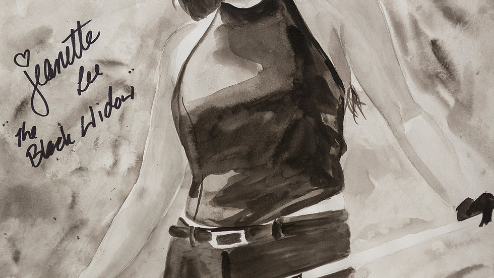 "Jeanette Lee ""Black Widow"" - Autographed #2"