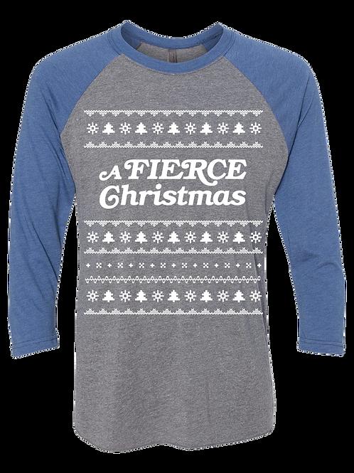 A Fierce T-Shirt Blue/Grey