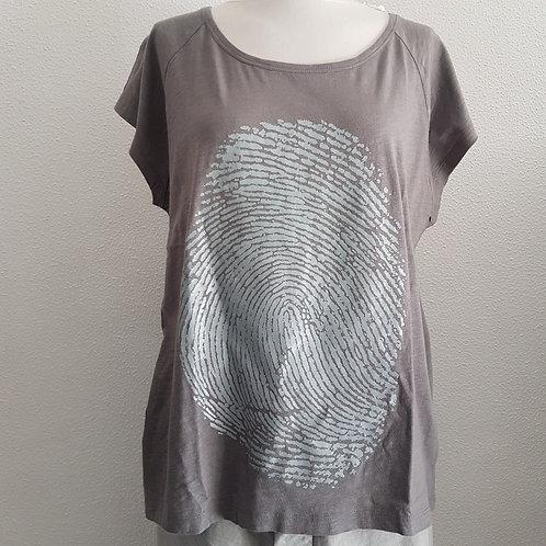 Shirt with print BLACK