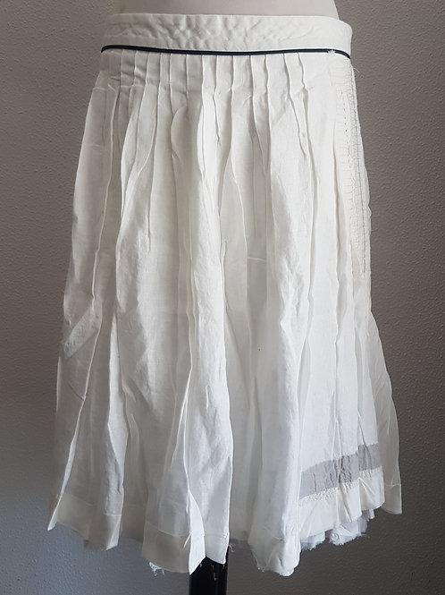 Skirt linen, silk