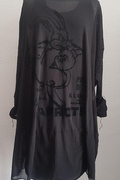 RUNDHOLZ long shirt/dress with print