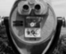 black and white quarter slot binoculars
