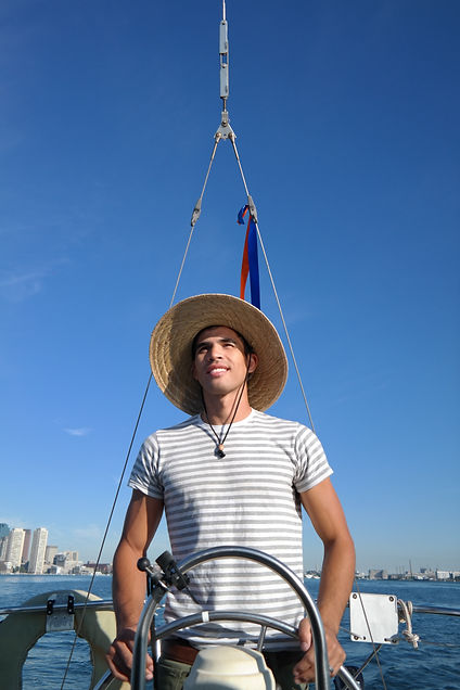 Aaron, captain of Gypsy Days