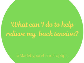 My Top Tips to Relieve Muscle Tension