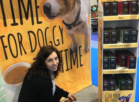 Introducing a Doggy's Cuppa - a doggy herbal tea developed by Veterinary Surgeon Veneta Kozhuhar