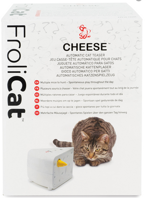 Pebzz Product Review of FroliCAT by PetSafe - Cheese Cat Toy