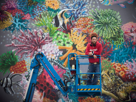 Street artist Louis Masai calls for action to save endangered species in new exhibition
