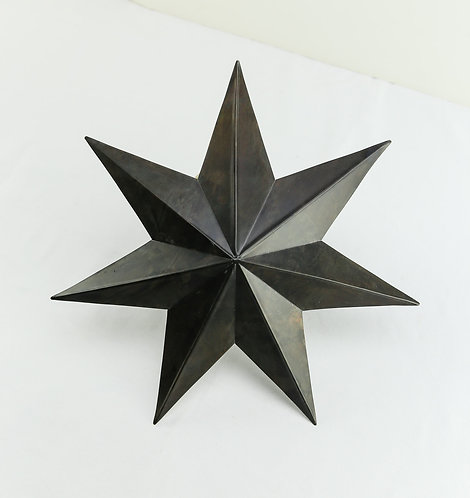Seven-Pointed Star Wall Ornament or Tree Topper