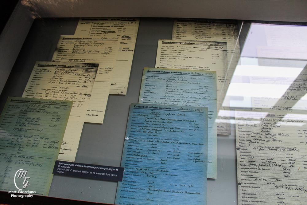 Records of prisoners