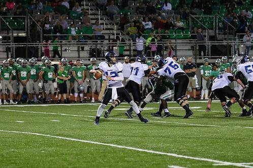 High School football action shot